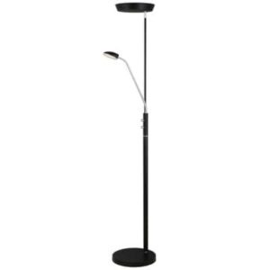 Vegas Combi LED gulvlampe med uplight og 1 arm