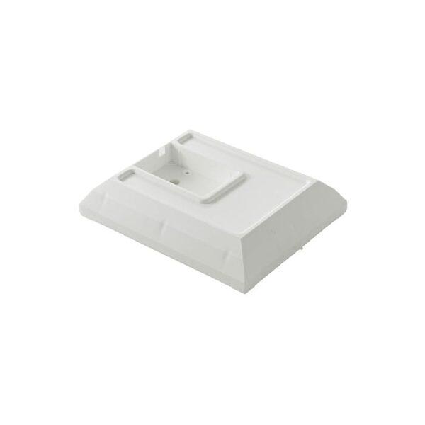 arkitektlampebordfod i hvid