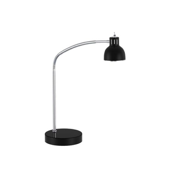 duett led bordlampe i sort