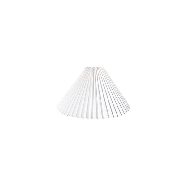 plisse-kjole-hvid-plast