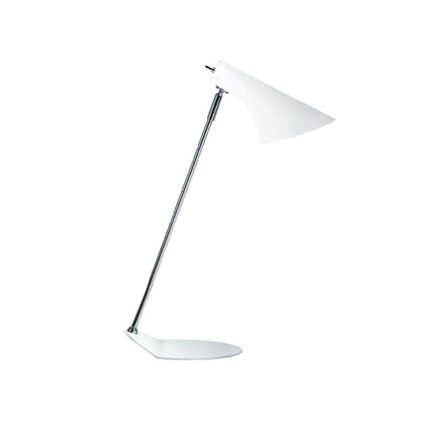 vanilla bordlampe i hvid