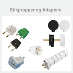 Stikpropper og Adaptere