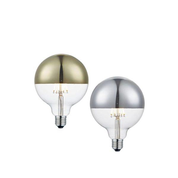 top-de-luxe-topforspejlet-globepaere-led-6-5w-guld-og-soelv