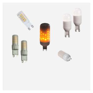 G9 LED Pærer