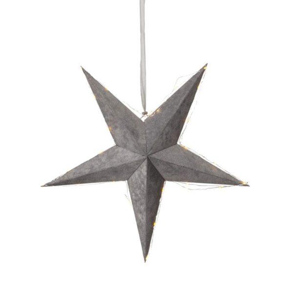 julestjerne-velour-star-led-batteri-60-cm-graa