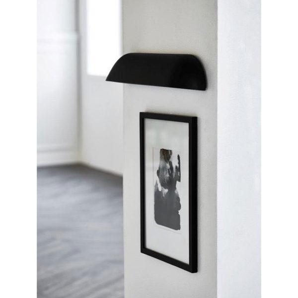 nordlux-led-væglampe-front-36-sort