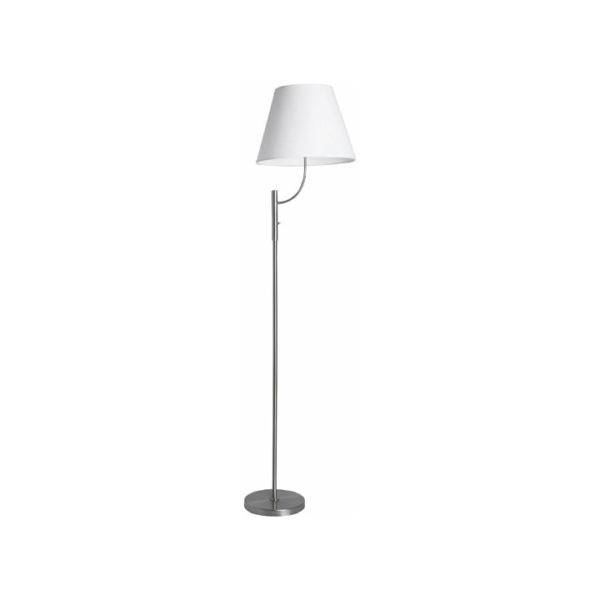 gulvlampe-staal-med-hvid-skaerm-pyrit