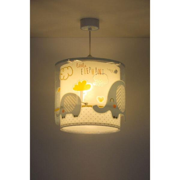 lampe-elefanter-lyseblaa