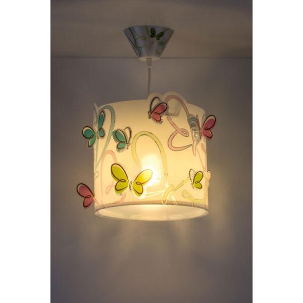 loftlampe-med-sommerfugle