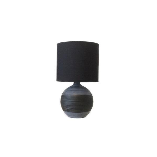 bordlampe-keramik-sort-med-lampeskaerm